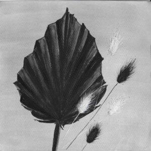 Monochrome Florals